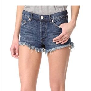 Free People Soft & Relaxed Cutoff Jean Shorts